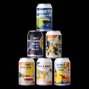 Proefpakket Speciaalbier Blikken Van Brouwerij Eleven Utrecht