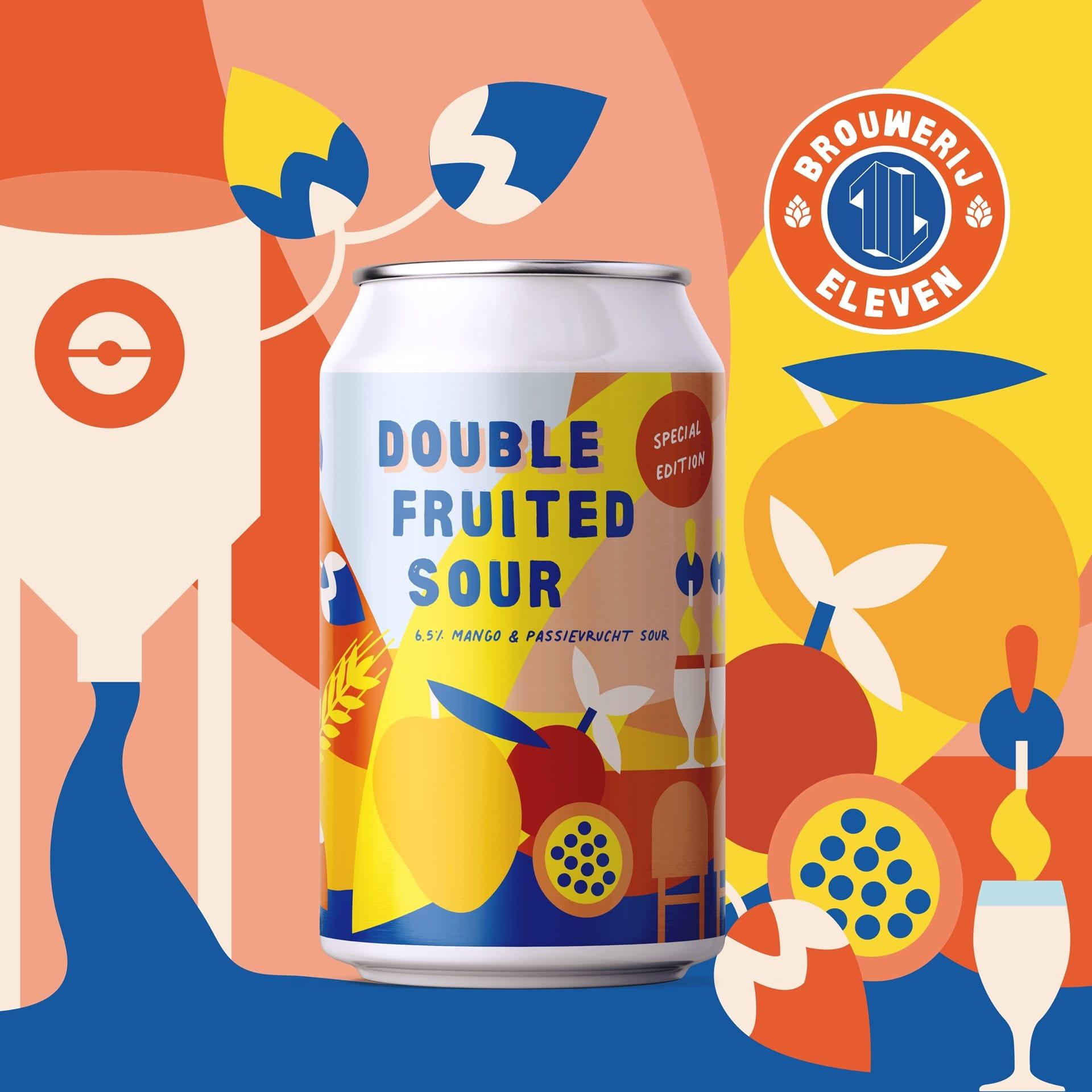 Brouwerij Eleven Utrecht Double Fruited Sour