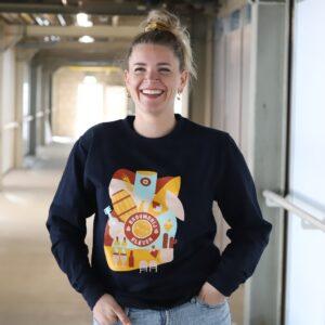 Brouwerij Eleven Utrecht Sweater Vrouw