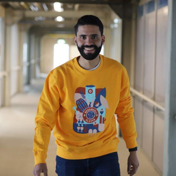 Brouwerij Eleven Utrecht Sweater Man