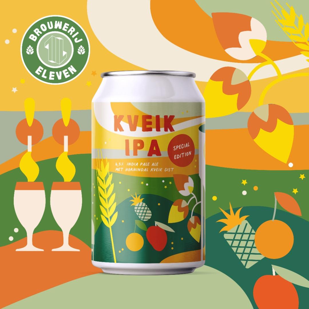 Brouwerij Eleven Utrecht Kveik IPA Bier