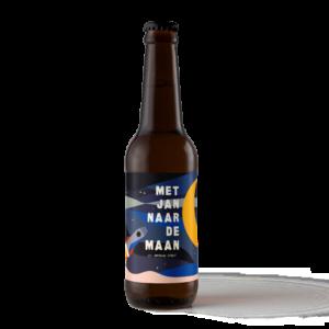 Met Jan Naar De Maan Speciaalbier Van Brouwerij Eleven
