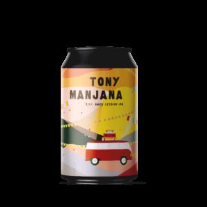 Tony Manjana Speciaalbieren Van Brouwerij Eleven
