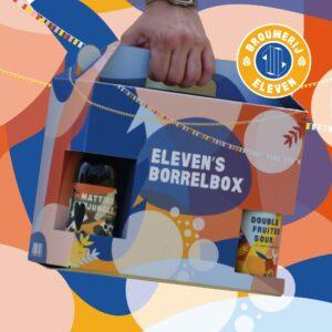 Borrelbox van Brouwerij Eleven Utrecht